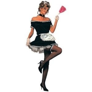 French Maid Halloween Costume New